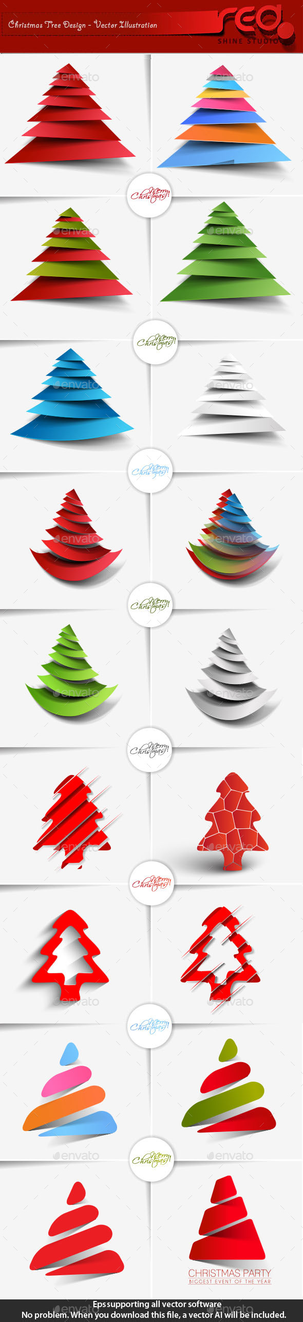 Christmas Tree Pack - Christmas Seasons/Holidays