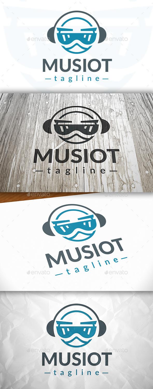 Music Robot Logo
