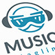 Music Robot Logo - GraphicRiver Item for Sale