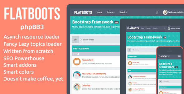ThemeForest FLATBOOTS phpBB3 8536771