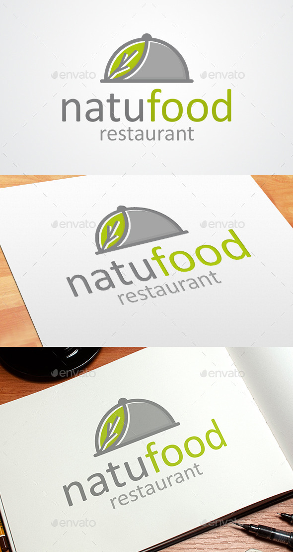 GraphicRiver Nature Food Logo Template 8996491