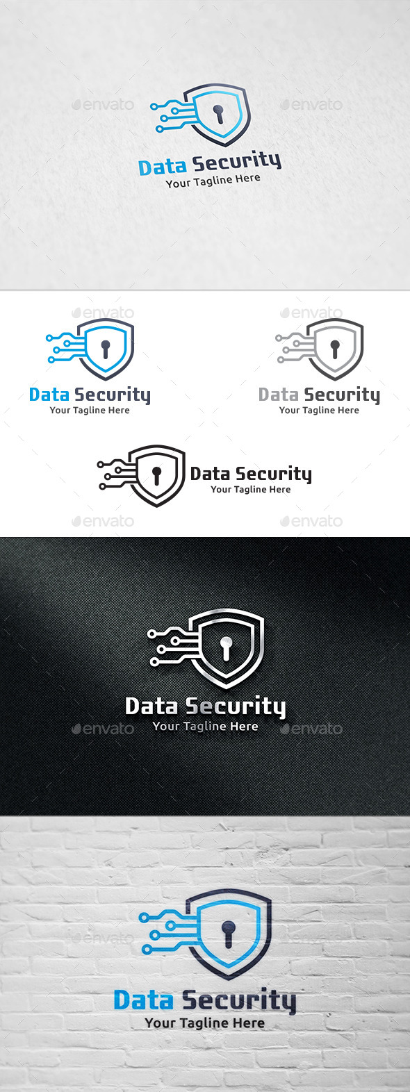 GraphicRiver Data Security Logo Template 8996731