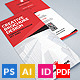 Trifold Brochure 22 : Creative  - GraphicRiver Item for Sale