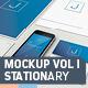 Stationary - Mockup Vol 1 - GraphicRiver Item for Sale