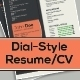 Resume Template: Dial Style, 3 Pages - GraphicRiver Item for Sale