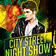 City Street Night Show Party Flyer Psd Template - GraphicRiver Item for Sale