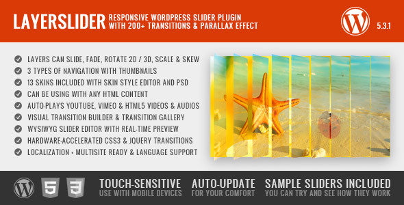 LayerSlider Responsive WordPress Slider Plugin  - CodeCanyon Item for Sale