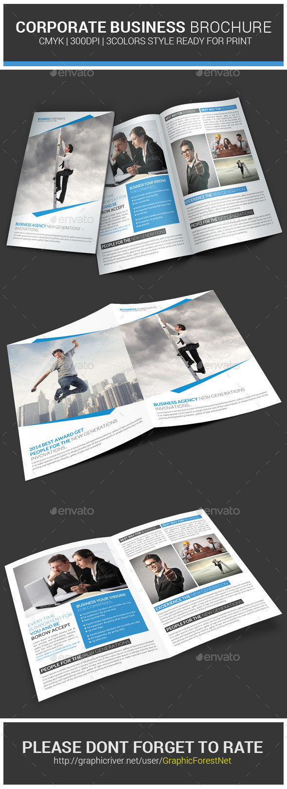 GraphicRiver Corporate Business Brochure Psd Template 8997679