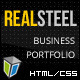 Real Steel – Business and Portfolio HTML Template
