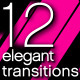 12 Elegant Transitions - VideoHive Item for Sale
