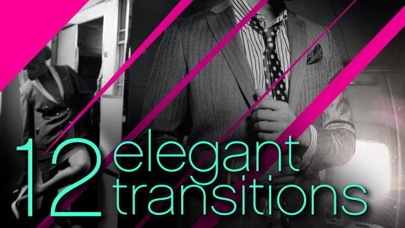 VideoHive 12 Elegant Transitions 8997791