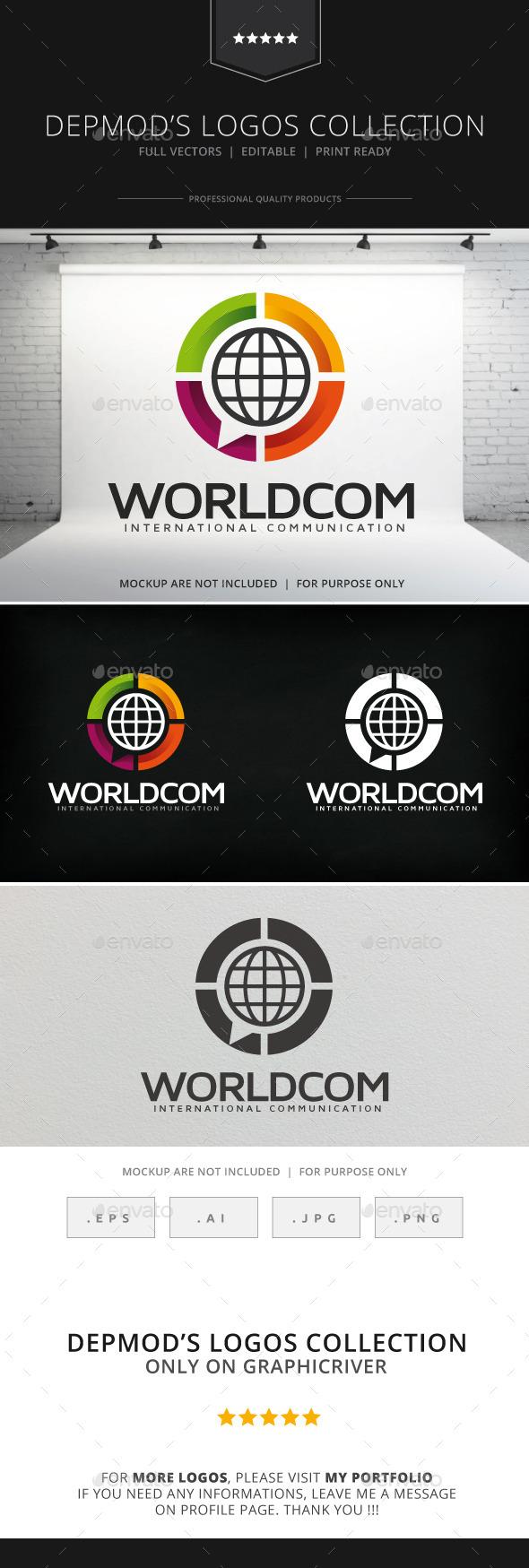 GraphicRiver Worldcom Logo 8997969