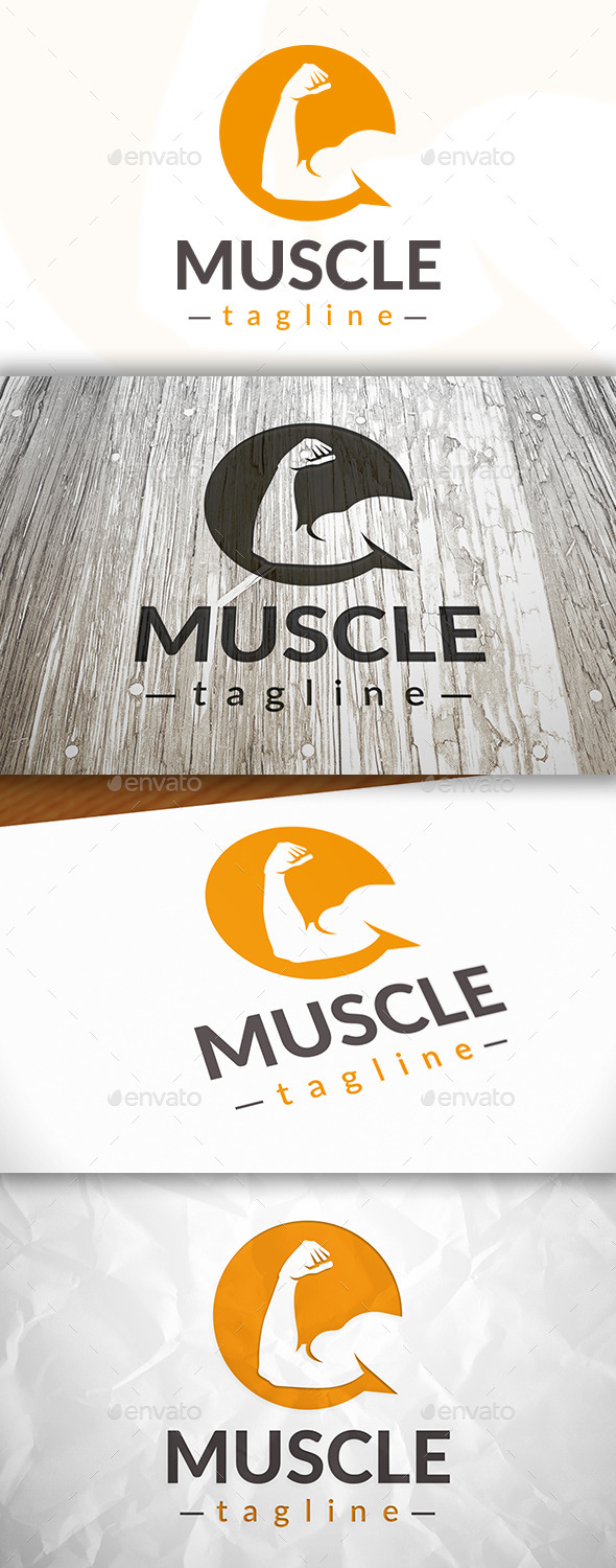 GraphicRiver Fitness Chat Logo 8997996