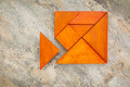 misfit concept with tangram - PhotoDune Item for Sale