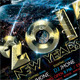 2015 New Year Flyer Template vol2