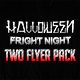 Halloween Fright Night Two Flyer Pack - GraphicRiver Item for Sale