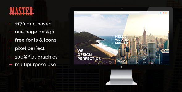 ThemeForest Master PSD 8998283