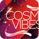 Cosmic Vibes Party Flyer Template PSD - GraphicRiver Item for Sale