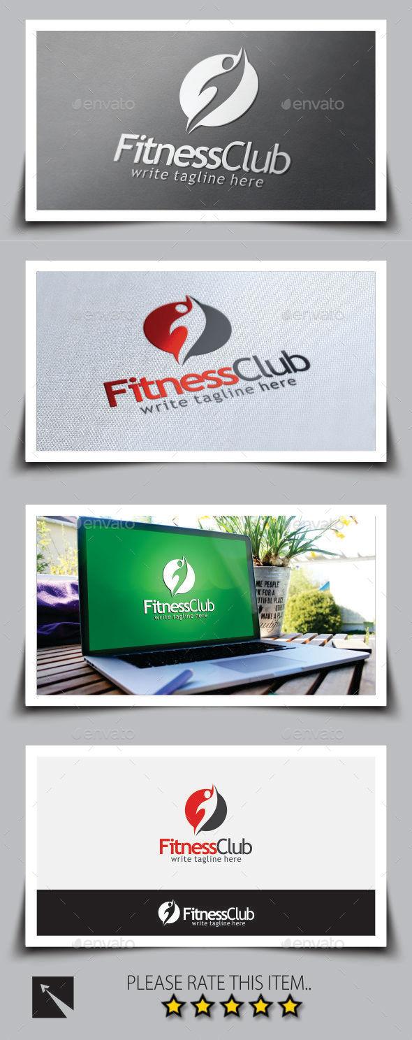 GraphicRiver Fitness Club Logo Template 8998677
