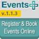 WordPress Events Registration Calendar Plugin - CodeCanyon Item for Sale