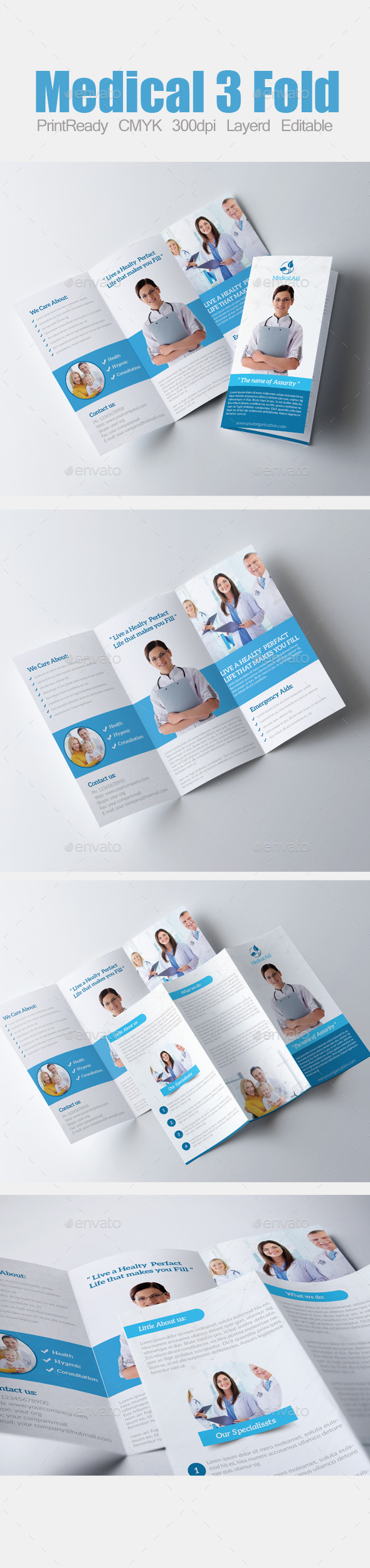 GraphicRiver 3 Fold Business Brochure 8998759
