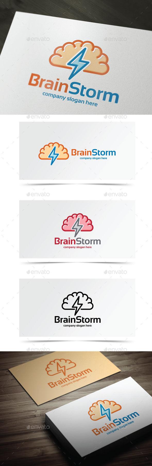 GraphicRiver Brain Storm 8998796