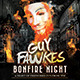 Guy Fawkes Bonfire Flyer - GraphicRiver Item for Sale