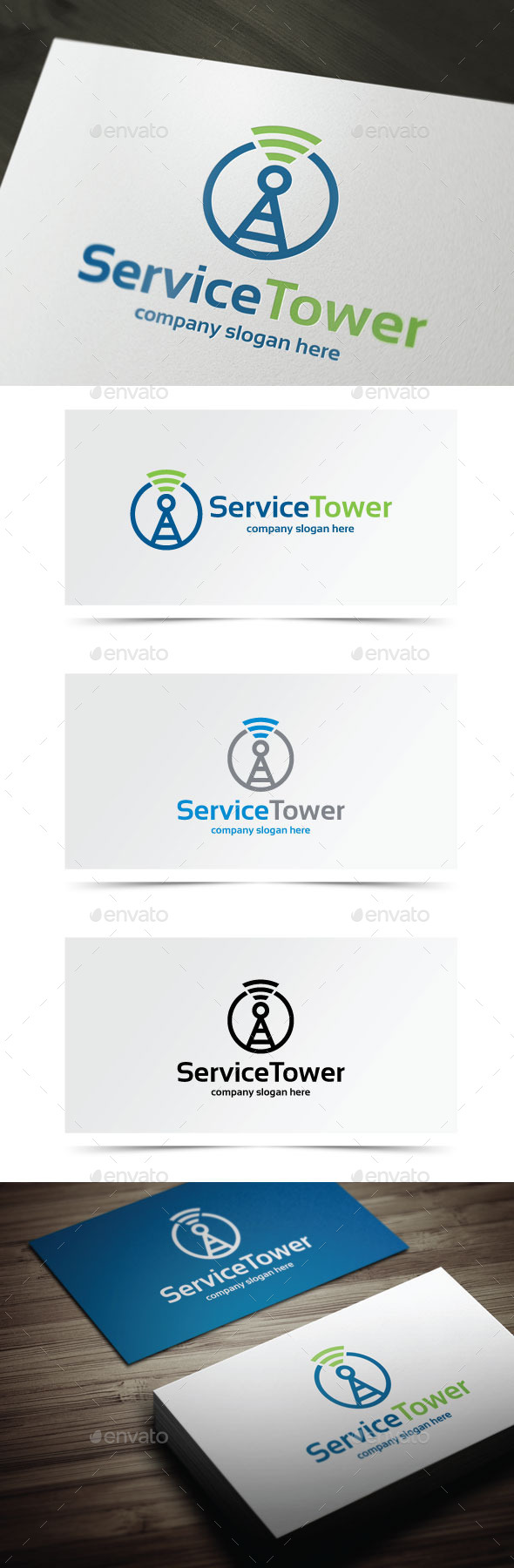 GraphicRiver Service Tower 8998858
