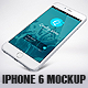 Phone 6 Plus White Mockup - GraphicRiver Item for Sale