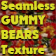 Seamless Gummy Bears Texture