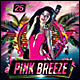 Pink Breeze Poster/Flyer - GraphicRiver Item for Sale
