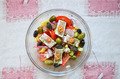 Greek salad from above - PhotoDune Item for Sale