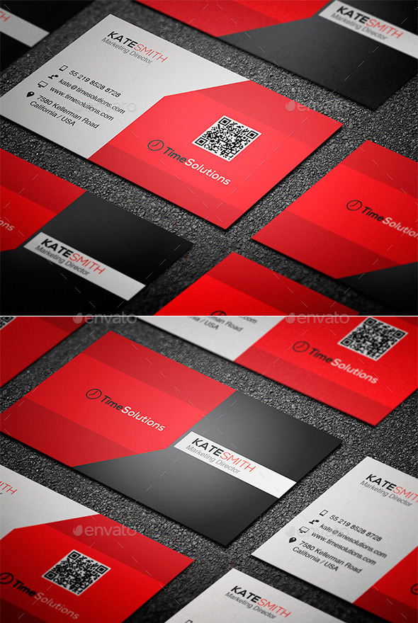 GraphicRiver Clean Business Card 8999413