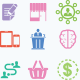 Seo and Business Services Icons Set 3 - GraphicRiver Item for Sale