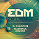 EDM Experience Flyer - GraphicRiver Item for Sale
