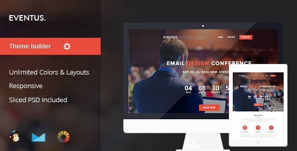 ThemeForest Eventus Event Conference Email Template 8999668