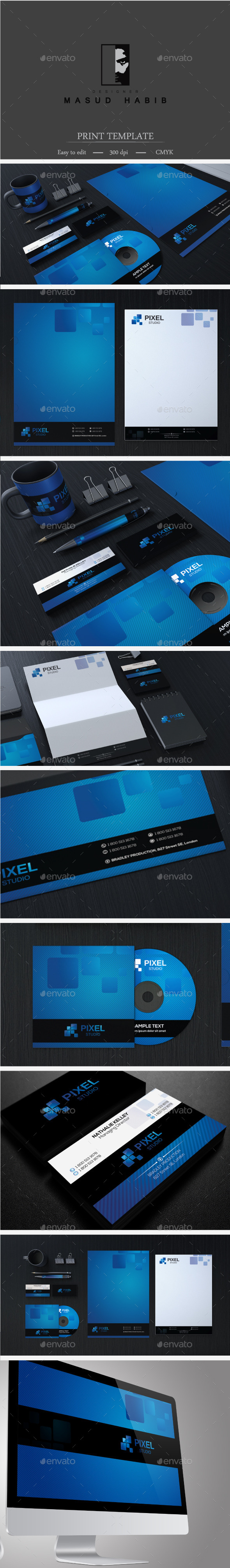 GraphicRiver Creative Corporate Identity 23 8999700