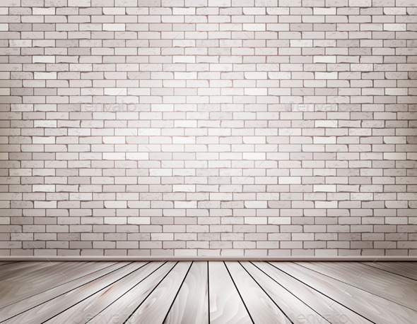 GraphicRiver White Brick Room 9000079