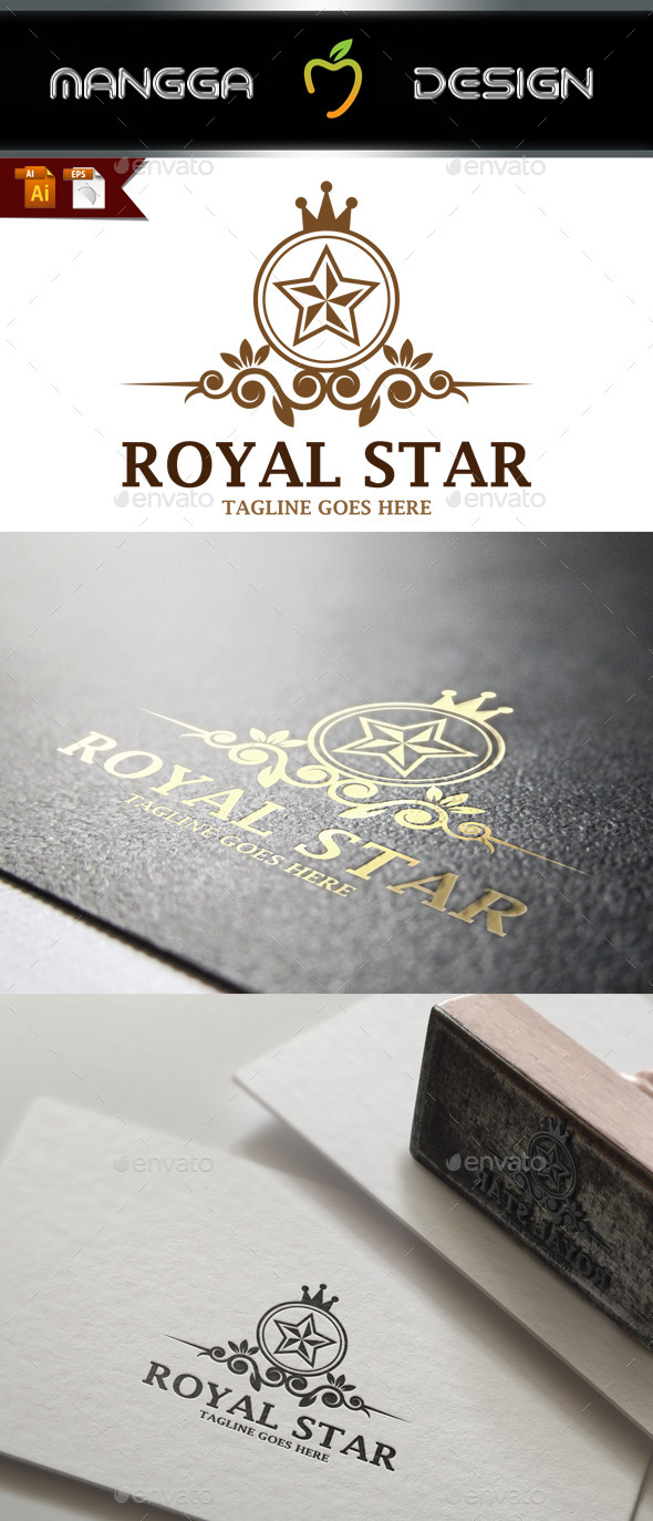GraphicRiver Royal Star Logo 9000346
