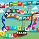 Snakes and Ladders Game - GraphicRiver Item for Sale