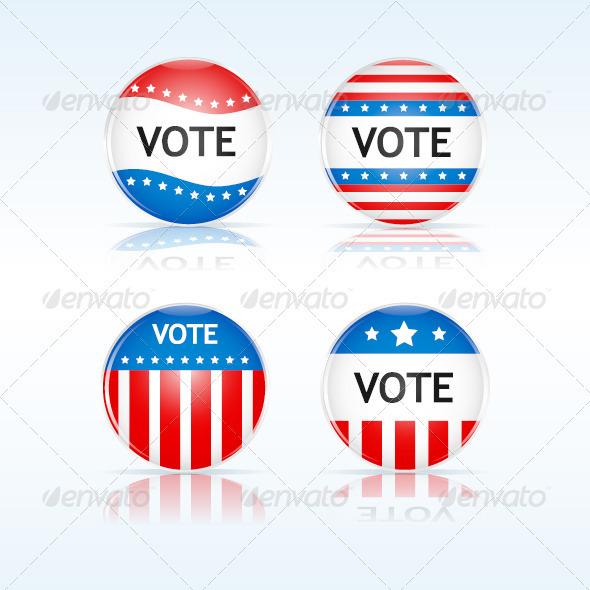 GraphicRiver Vote Badges 921432