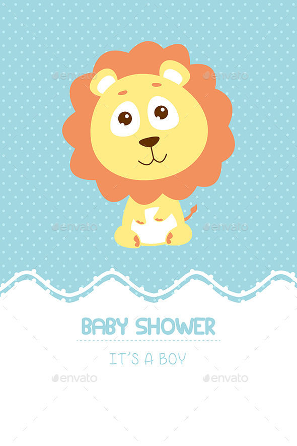 GraphicRiver Baby Shower Invitation Card 9000639