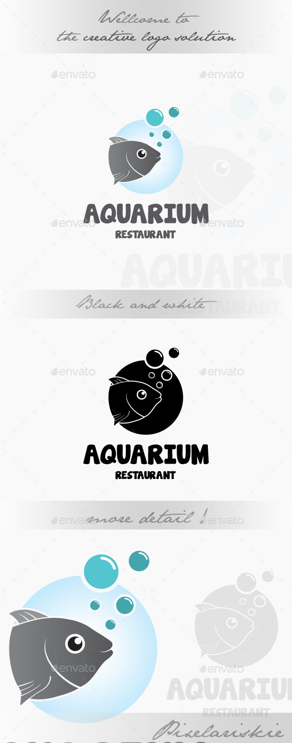 GraphicRiver Aquarium Logo 9000714