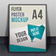 Multiview Flyer/Poster Mock-ups  - GraphicRiver Item for Sale