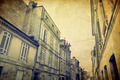 Vintage Street view of old town in bordeaux city - PhotoDune Item for Sale