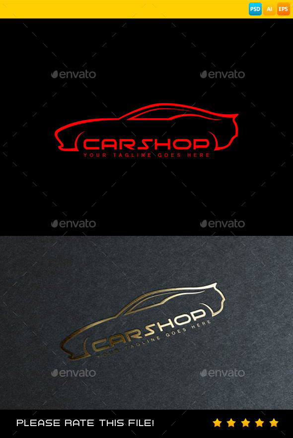 GraphicRiver Car Logo 8998791
