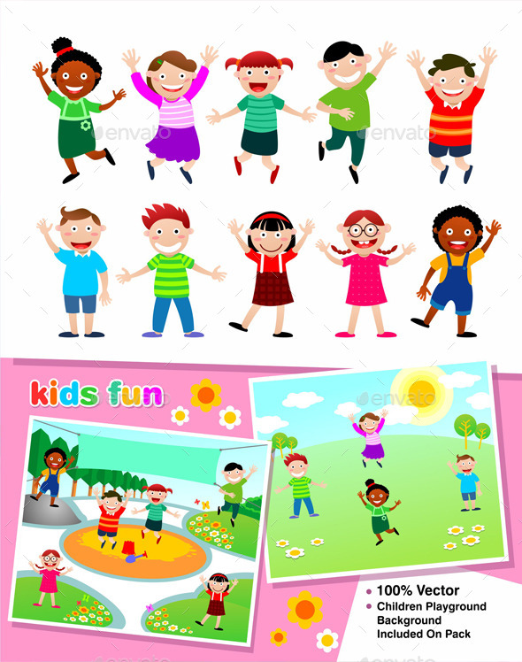 GraphicRiver Kids Fun 9001173