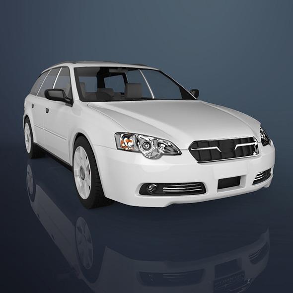 3DOcean Sedan car 9001180