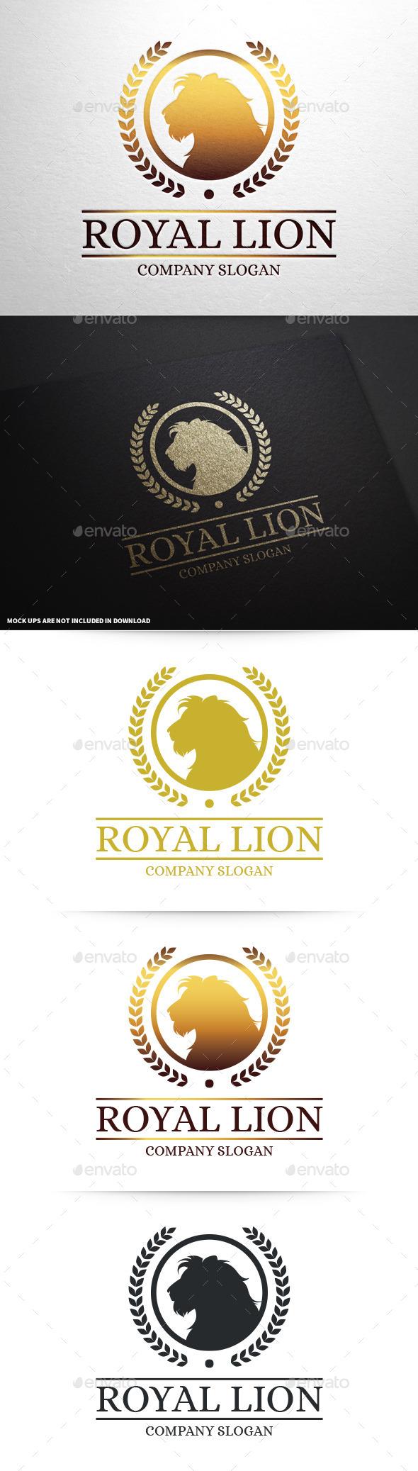 GraphicRiver Lion Brand Logo Template 9001187