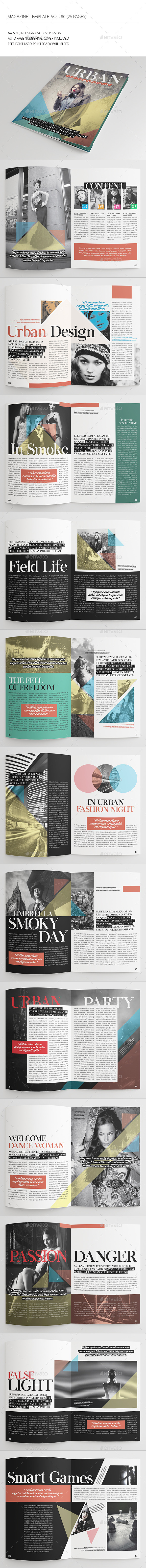 GraphicRiver 25 Pages Urban Magazine Vol80 9001383